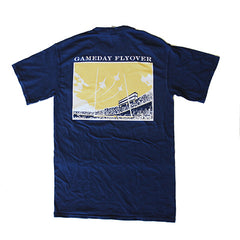 State Traditions Gameday Flyover T-Shirt Navy and Gold