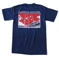 State Traditions Gameday Flyover T-Shirt Navy and Red