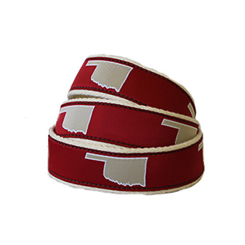 Oklahoma Norman Gameday Youth Belt