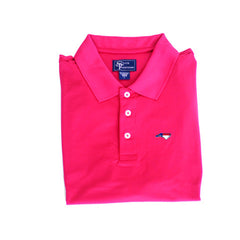 North Carolina Traditional Clubhouse Performance Polo Red