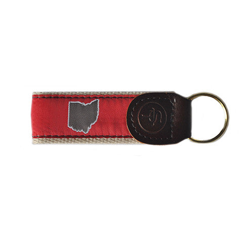 Ohio Columbus Gameday Key Fob