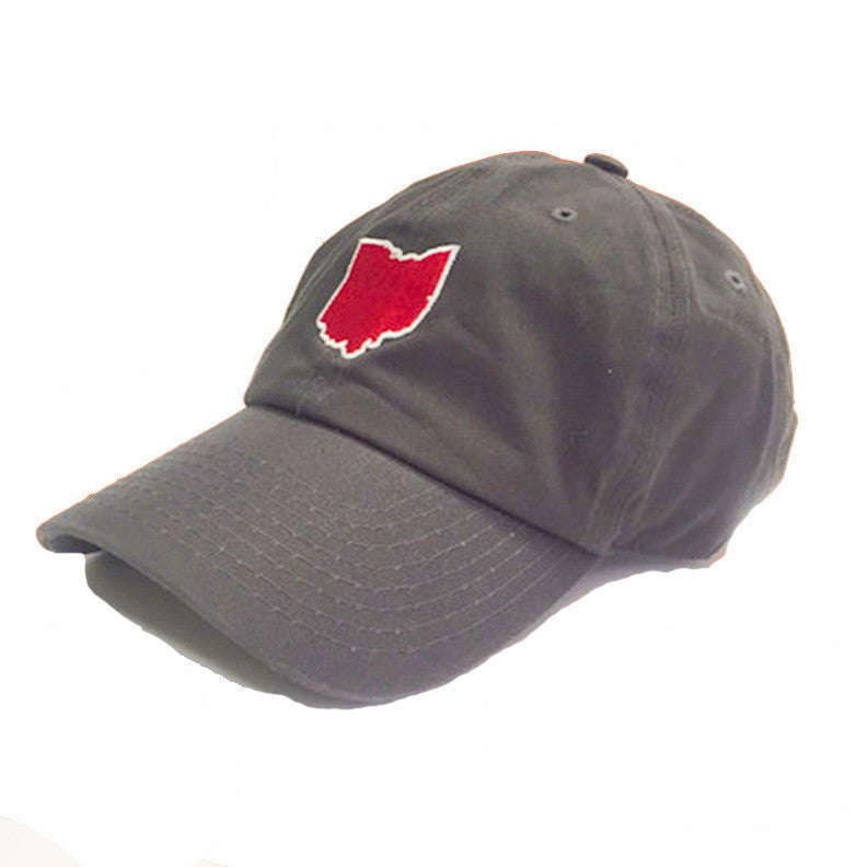 Ohio Columbus Gameday Hat Grey