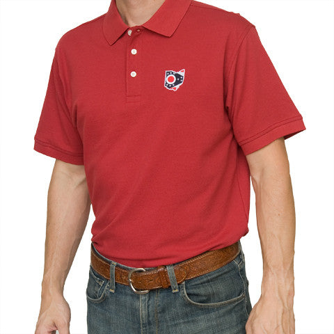 Ohio Traditional Polo Scarlet