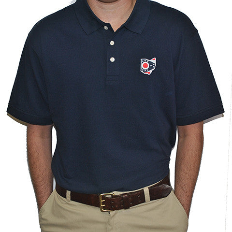Ohio Traditional Polo Navy
