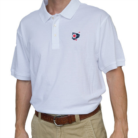 Ohio Traditional Polo White