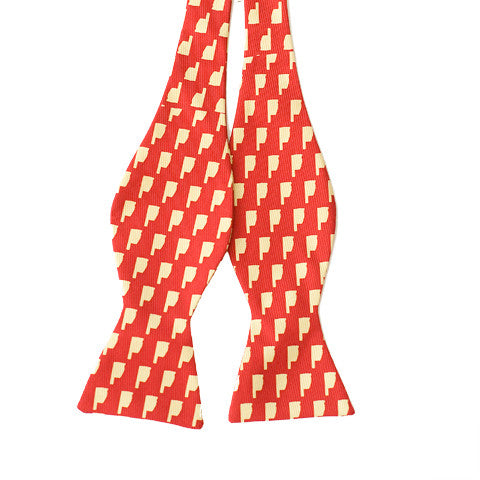 Oklahoma Norman Gameday Bow Tie Crimson