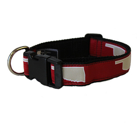 Oklahoma Norman Gameday Dog Collar