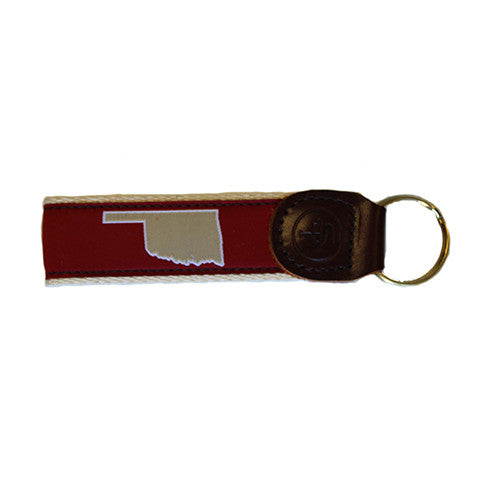 Oklahoma Norman Gameday Key Fob