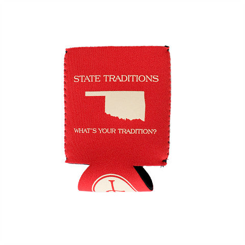Oklahoma Norman Gameday Koozie