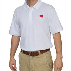 Oklahoma Norman Gameday Polo White