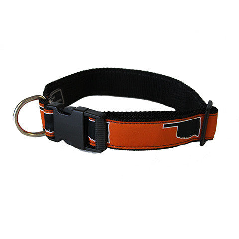 Oklahoma Stillwater Gameday Dog Collar