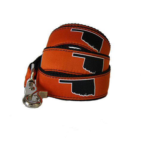 Oklahoma Stillwater Gameday Dog Leash/Lead