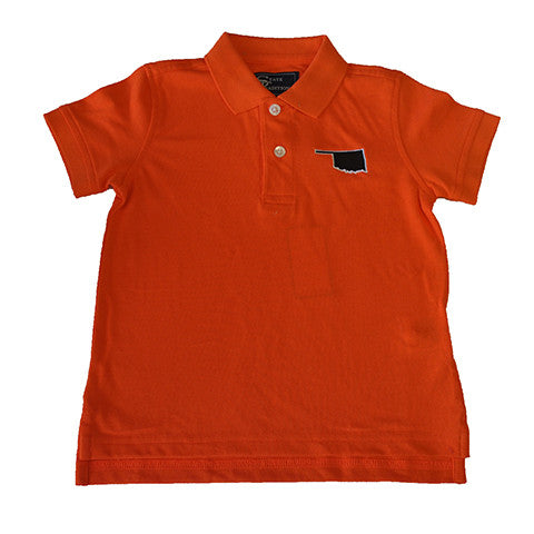 Oklahoma Stillwater Gameday Youth Polo Orange