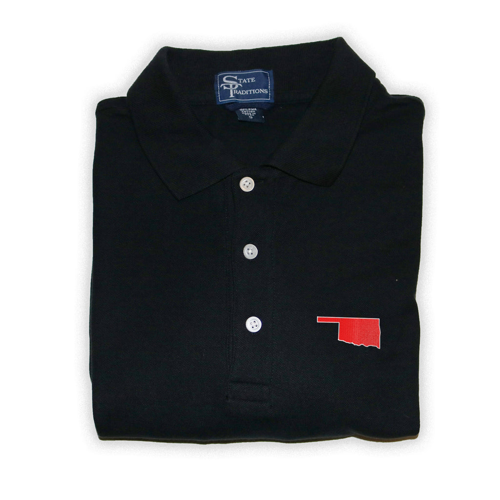 Oklahoma Norman Gameday Polo Black