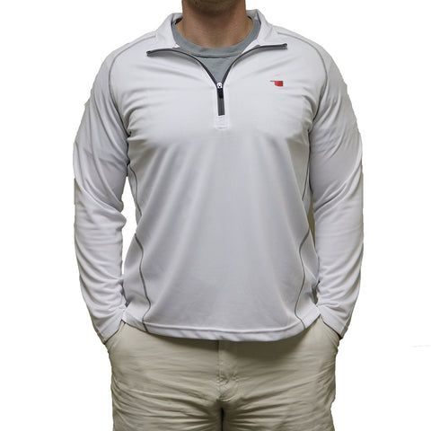 Oklahoma Norman Gameday Performance Pullover White
