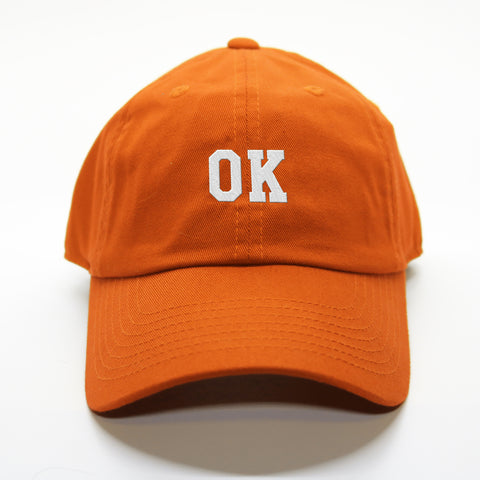 """OK"" Oklahoma Gameday Letterman Hat"
