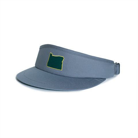 Oregon Eugene Gameday Golf Visor Grey