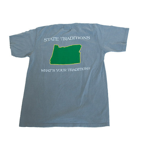 Oregon Eugene Gameday T-Shirt Grey