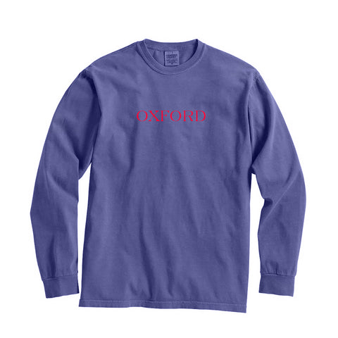 Mississippi Oxford City Series Long Sleeve T-Shirt