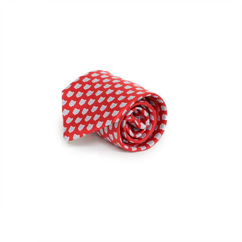 Ohio Columbus Gameday Tie Scarlet
