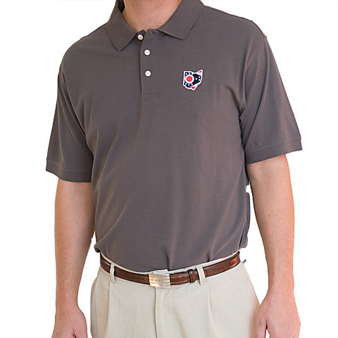 Ohio Traditional Polo Grey