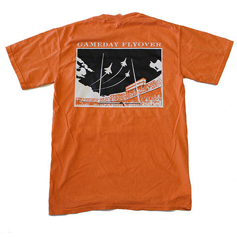 State Traditions Gameday Flyover T-Shirt Orange and Black