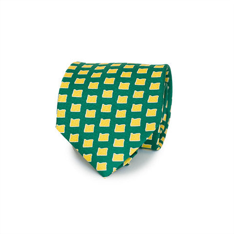 Oregon Eugene Gameday Tie Green