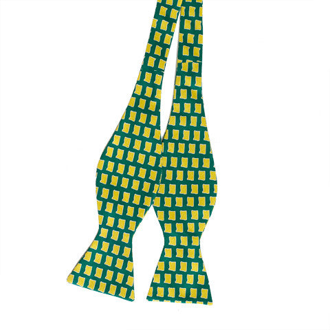 Oregon Eugene Gameday Bow Tie Green