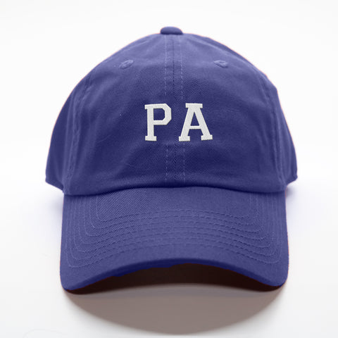 """PA"" Pennsylvania Gameday Letterman Hat"