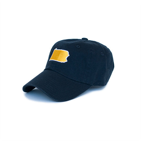 Pennsylvania Pittsburgh Gameday Hat Black