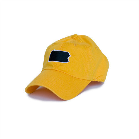 Pennsylvania Pittsburgh Gameday Hat Gold