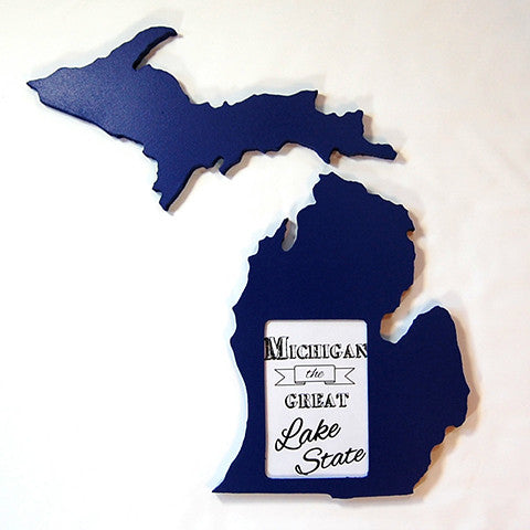 Michigan Picture Frame