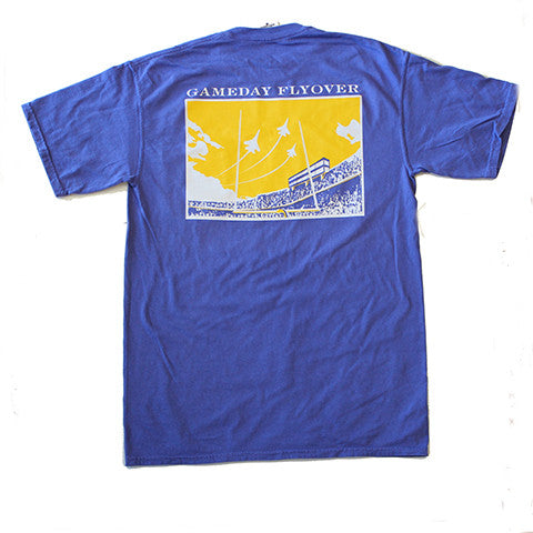 State Traditions Gameday Flyover T-Shirt Purple and Gold