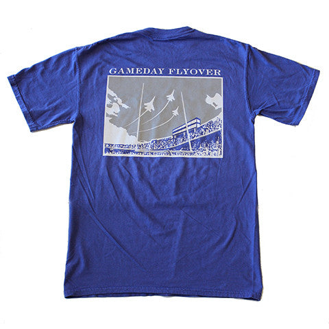 State Traditions Gameday Flyover T-Shirt Purple and Grey