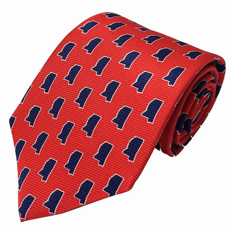 Mississippi Oxford Gameday Tie