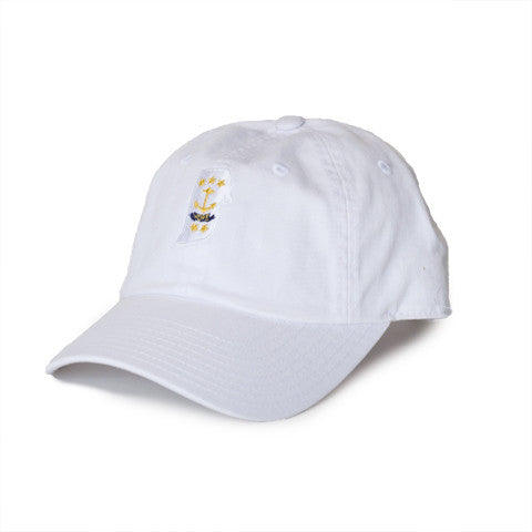 Rhode Island Traditional Hat White