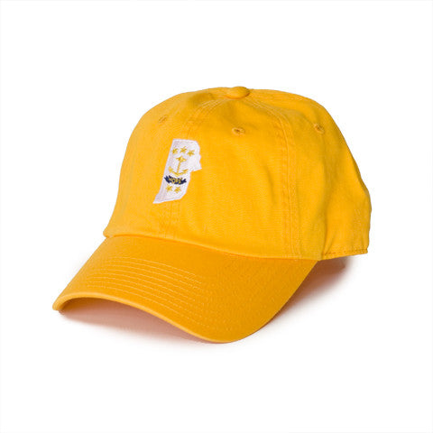 Rhode Island Traditional Hat Yellow