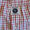 State Traditions Boxers Red and Black