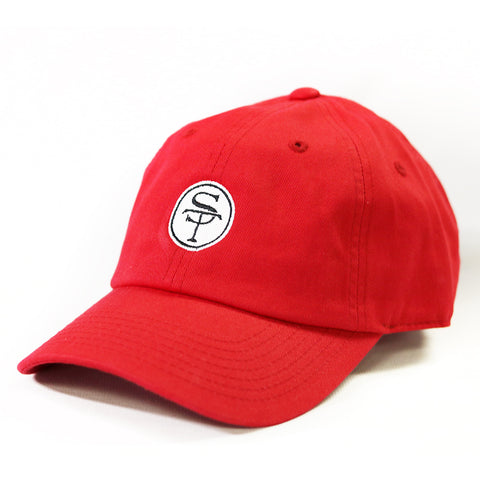 ST Logo Hat Red and Black