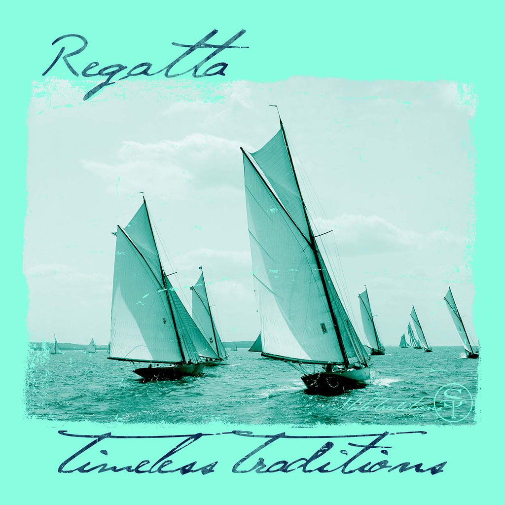 Timeless Traditions Regatta T-Shirt Island Reef