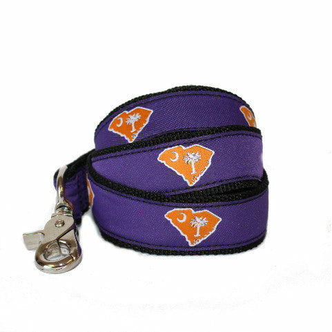 South Carolina Clemson Gameday Dog Leash/Lead