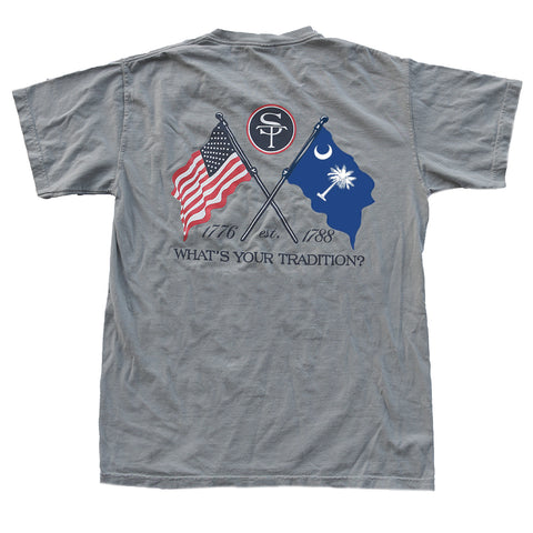 South Carolina Heritage T-Shirt Grey