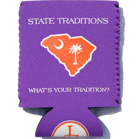 South Carolina Clemson Gameday Koozie