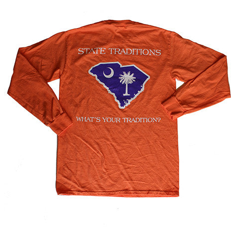 South Carolina Clemson Gameday Long Sleeve T-Shirt