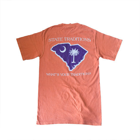 South Carolina Clemson Gameday T-Shirt Orange