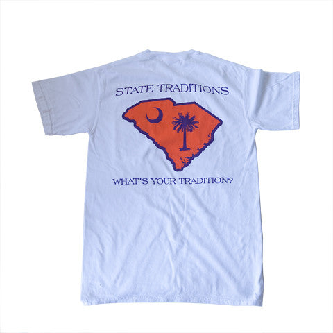 South Carolina Clemson Gameday T-Shirt White