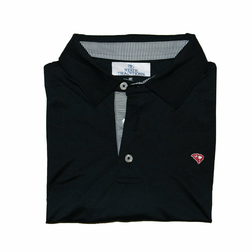South Carolina Gameday Signature Polo Black