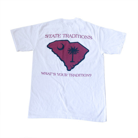 c8f815542ed South Carolina Columbia Gameday T-Shirt White – State Traditions