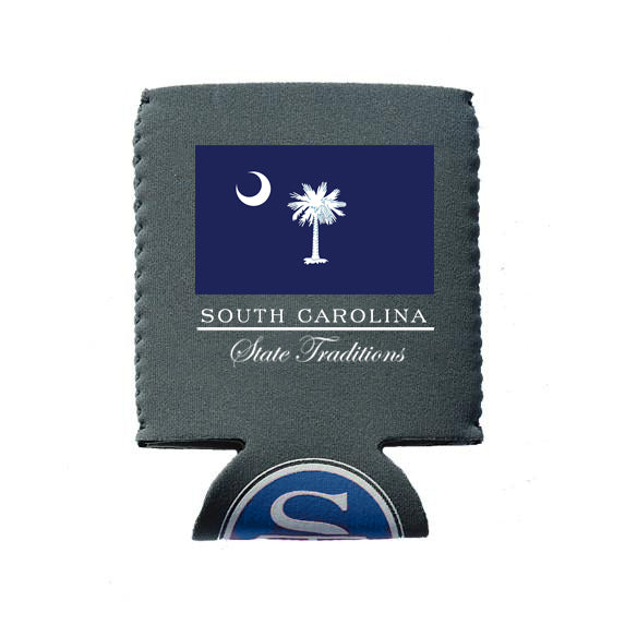 South Carolina Flag Koozie