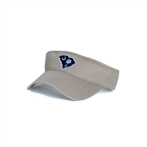 South Carolina Traditional Hat Visor Khaki